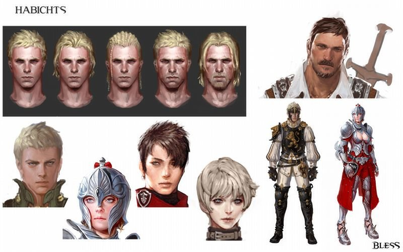 Habichts Character Concept Art
